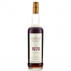 Macallan 1970 Fine and Rare 31 Year Old #9033