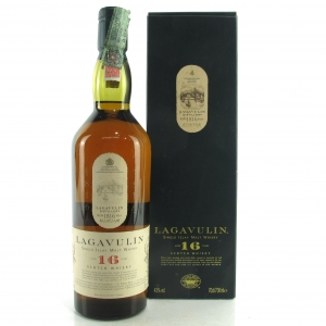 Lagavulin 16 Year Old White Horse Bottling