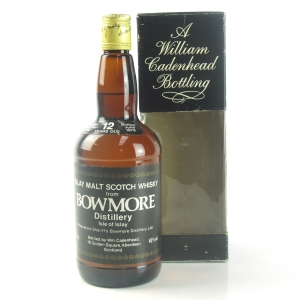 Bowmore 1966 Cadenhead's 12 Year Old