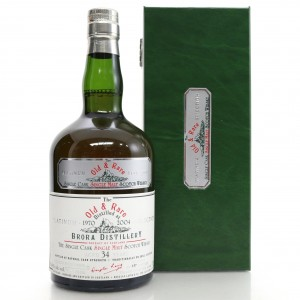 Brora 1970 Douglas Laing 34 Year Old / Old and Rare