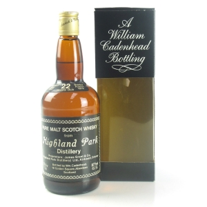 Highland Park 1957 Cadenhead's 22 Year Old