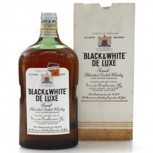 Black and White De Luxe 1940s / US Import