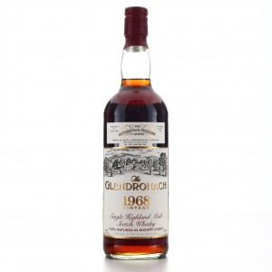 Glendronach 1968 25 Year Old 75cl / US Import