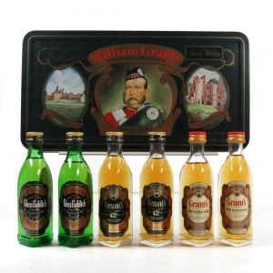 William Grant Miniature Collection 6 x 5cl
