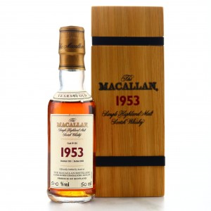 Macallan 1953 Fine and Rare 49 Year Old #516 Miniature