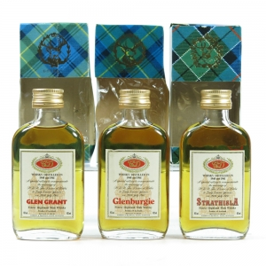 Royal Wedding Single Malt Miniature Collection 3 x 5cl