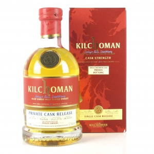 Kilchoman 2006 Private Cask Release 10 Year Old / Private Owners