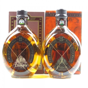Dimple 12 and Pinch 15 Year Old 2 x 75cl