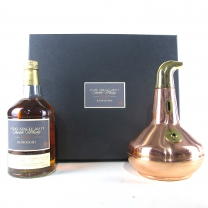 Bowmore 1980 Queen's Visit 23 Year old / Including Still Decanter