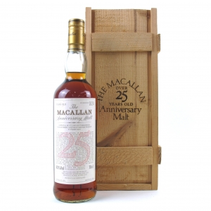 Macallan 1972 Anniversary Malt 25 Year Old