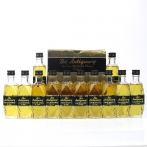 Antiquary 70 Proof 1970s Miniatures x12 / Case
