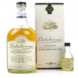 Dalwhinnie 15 Year Old 1 Litre / Including 5cl Miniature