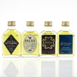Marks and Spencer Miniature Whisky Selection / 4 x 5cl