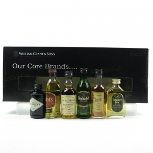 William Grant and Sons 'Our Core Brands' Gift Pack / 6 x 5cl