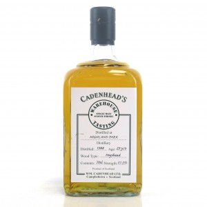 Highland Park 1988 Cadenhead's 29 Year Old