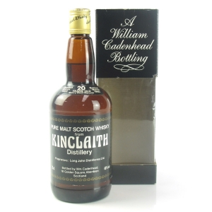 Kinclaith 1965 Cadenhead's 20 Year Old / Sherry Wood Matured