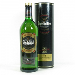 Glenfiddich Special Reserve NAAFI Stores 1 Litre Front