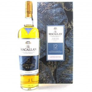 Macallan 12 Year Old Fine Oak Limited Edition