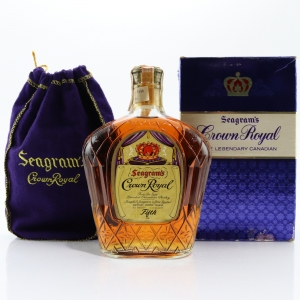 Seagram's Crown Royal 1963 Canadian Whisky