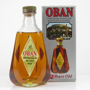 Oban 12 Year Old 1980s