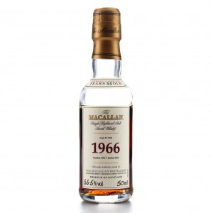 Macallan 1966 Fine and Rare 35 Year Old #7878 Miniature