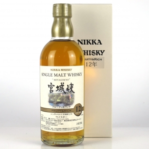 Miyagikyo 12 Year Old Fruity and Rich 50cl