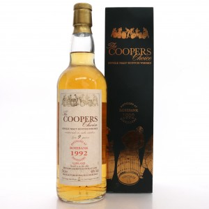 Rosebank 1992 Cooper's Choice 9 Year Old / Auxil Import