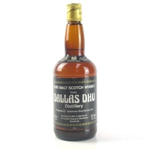 Dallas Dhu 1962 Cadenhead's 16 Year Old