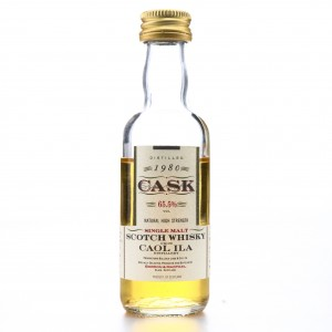 Caol Ila 1980 Gordon and MacPhail Cask Strength Miniature