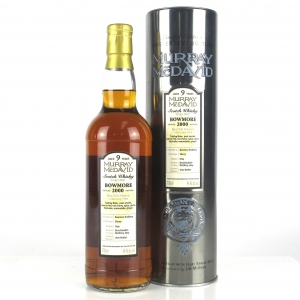 Bowmore 2000 Murray McDavid 9 Year Old