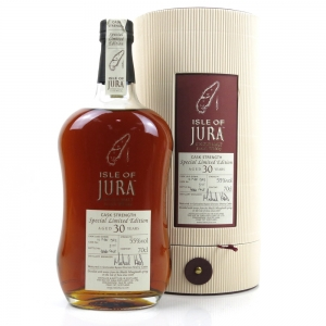 Isle of Jura 1973 Single Cask 30 Year Old