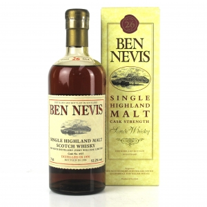 Ben Nevis 1970 Single Cask 26 Year Old #4537 75cl