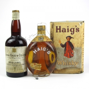 Haig's Dimple and Haig's Gold Label 1930s
