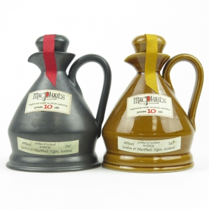 Macphail's 10 Year Old Highland Malt Decanter x 2