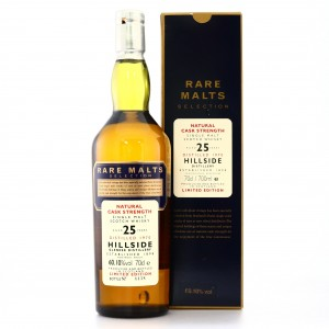 Glenesk-Hillside 1970 Rare Malt 25 Year Old / 60.10%
