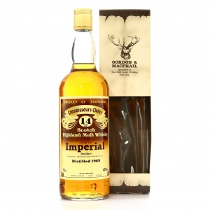 Imperial 1969 Gordon and MacPhail 14 Year Old