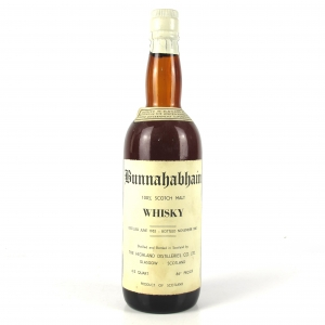 Bunnahabhain 1952 8 Year Old / US Import