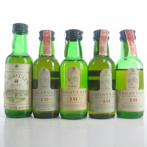 Lagavulin White Horse Miniatures Selection 5 x 5cl