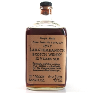 Bowmore 1967 Largiemeanoch 12 Year Old