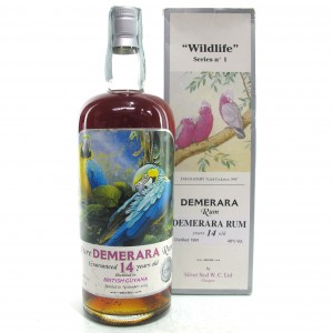 Silver Seal 1991 Demerara Rum 14 Year Old