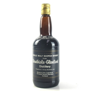 Strathisla-Glenlivet 1967 Cadenhead's 20 Year Old / Sherry Wood Matured