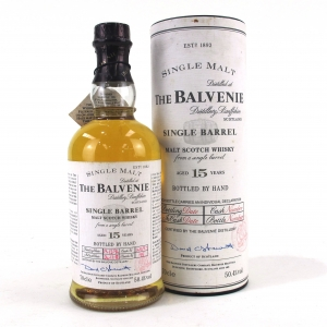 Balvenie 1980 Single Barrel 15 Year Old / bottled at 16 Year Old