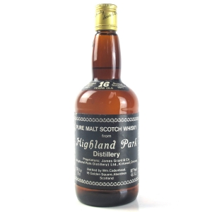 Highland Park 1961 Cadenhead's 16 Year Old