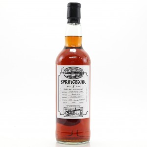 Springbank 2011 Fresh Sherry Casks 8 Year Old / Campbeltown Malts Festival 2019