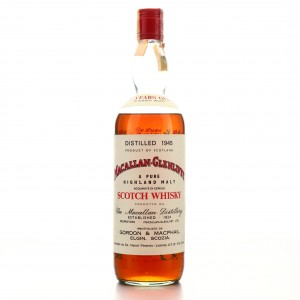 **Macallan 1945 Gordon and MacPhail 33 Year Old / Co. Pinerolo Import