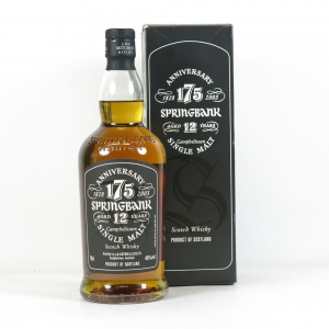 Springbank 175 Anniversary 12 Year Old Front