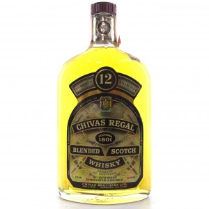 Chivas Regal 12 Year Old 50cl 1980s / US Import