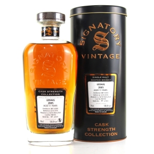 Ledaig 2005 Signatory Vintage 11 Year Old Cask Strength