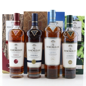Macallan Quest Collection x 4 / Quest, Lumina, Terra, Enigma