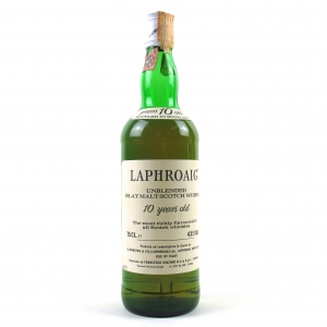 Laphroaig 10 Year Old Early 1980s